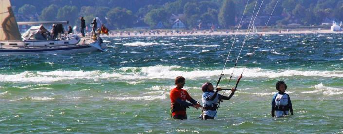 Kitesurfkurs für Kinder